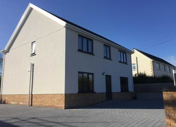 Thumbnail 4 bed detached house for sale in Cross Inn, Laugharne, Carmarthen