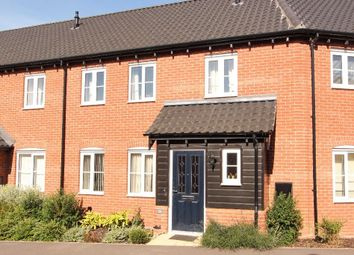 Thumbnail 3 bed terraced house for sale in Bryony Way, Attleborough