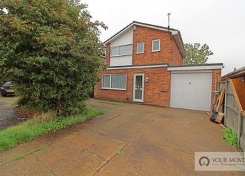 Thumbnail 3 bed detached house for sale in Grebe Close, Bradwell, Great Yarmouth