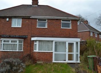 Thumbnail 2 bedroom semi-detached house to rent in Hawksford Crescent, Bushbury, Wolverhampton