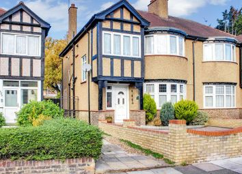 Thumbnail 3 bed semi-detached house for sale in Winchmore Hill, London