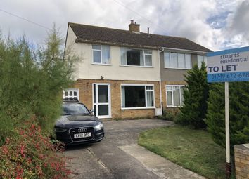 Thumbnail 3 bed semi-detached house to rent in Pearmain Road, Street