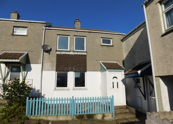 Thumbnail 3 bed terraced house to rent in Tregundy Road, Perranporth, Cornwall