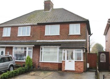 Thumbnail 3 bed semi-detached house for sale in Crompton Road, Pleasley, Mansfield