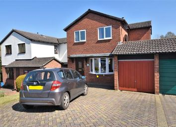 Thumbnail 3 bed detached house for sale in Valley Way, Exmouth, Devon