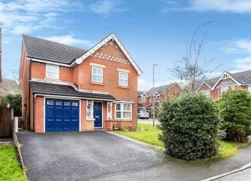 Thumbnail 4 bed detached house to rent in Kestrel Close, Congleton
