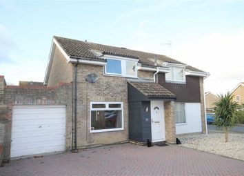 Thumbnail 3 bed semi-detached house for sale in Belsay, Toothill, Swindon