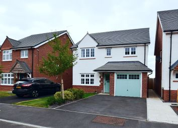 Thumbnail 4 bed detached house for sale in Sweet Field Close, Crewe