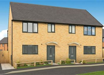 Thumbnail 3 bed semi-detached house for sale in The Cypress, Plot 215 Roman Fields, Manor Drive, Gunthorpe, Peterborough