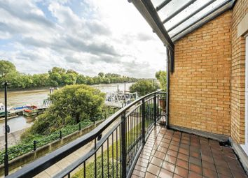 Thumbnail 2 bed flat for sale in Chenies House, Corney Reach Way, Chiswick