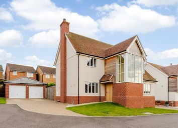 Thumbnail 4 bedroom detached house for sale in Tenter Close, Hadleigh, Ipswich