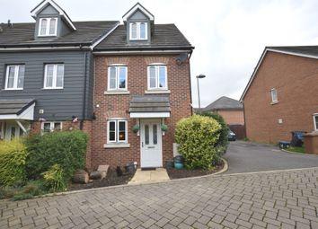 Thumbnail 3 bedroom end terrace house for sale in Saffron Crescent, Sawbridgeworth