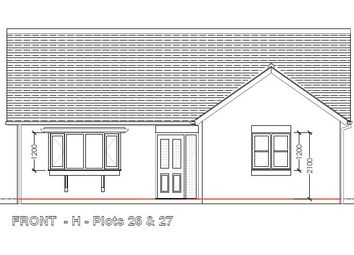 Thumbnail 2 bed bungalow for sale in Plot 26 Dolforgan View, Kerry, Newtown, Powys