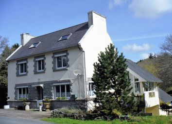 Thumbnail 5 bed detached house for sale in Brittany, Finistere, Nr Huelgoat