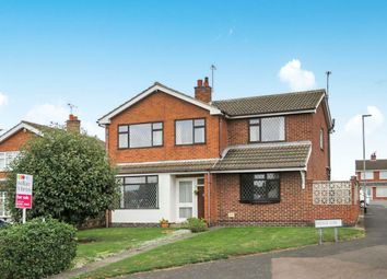 Thumbnail 4 bed detached house for sale in Oxburgh Close, Loughborough