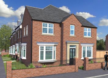 Thumbnail 3 bed town house for sale in Elm House, The Village Green, Wingate