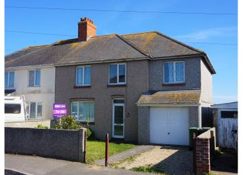 Thumbnail 5 bed semi-detached house for sale in Kitchener Road, Weymouth