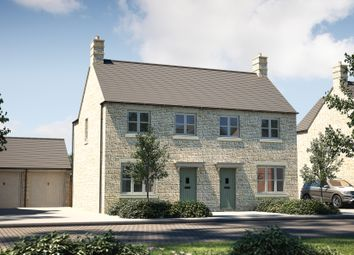 """Thumbnail 3 bedroom semi-detached house for sale in """"The Studland"""" at Kingfisher Road, Bourton-On-The-Water, Cheltenham"""