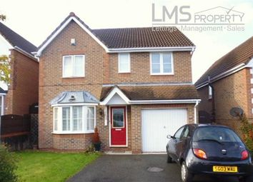 Thumbnail 4 bed detached house to rent in Birkdale Gardens, Winsford