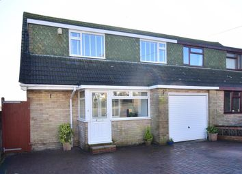 Thumbnail 4 bed semi-detached house for sale in Holtview Road, Woodingdean, Brighton, East Sussex