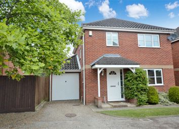 Thumbnail 3 bed detached house for sale in Hadley Drive, Norwich