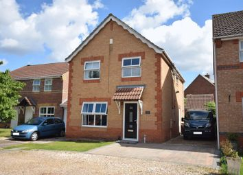 Thumbnail 4 bed detached house for sale in Primrose Close, North Hykeham, Lincoln