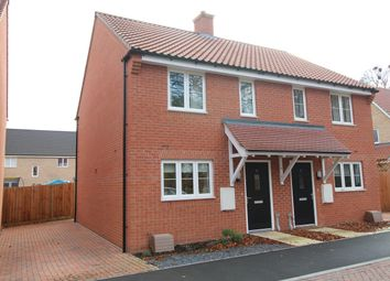 Thumbnail 2 bed semi-detached house for sale in Byerley Close, Kentford, Newmarket