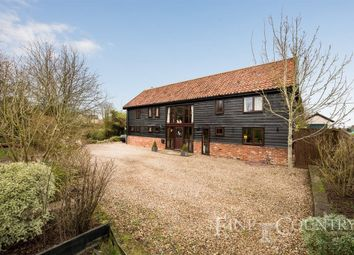 Thumbnail 4 bed barn conversion for sale in Long Green, Wortham, Diss