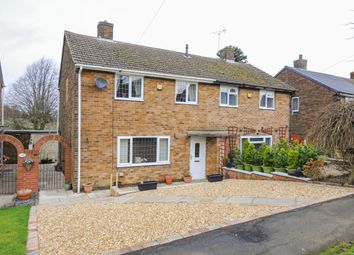 Thumbnail 3 bed semi-detached house for sale in Moorland Drive, Heath, Chesterfield