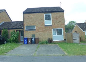 Thumbnail 2 bed link-detached house to rent in Ash Close, Lakenheath
