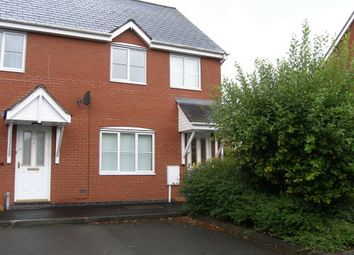 Thumbnail 3 bed end terrace house to rent in Frances Havergal Close, Leamington Spa