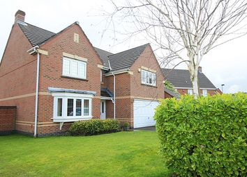 Thumbnail 4 bed detached house to rent in Arizona Crescent, Great Sankey, Warrington