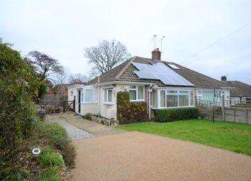 Thumbnail 3 bedroom semi-detached bungalow for sale in Woodside Road, Farnham, Surrey
