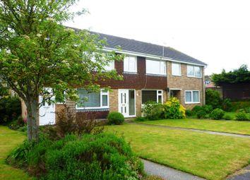 Thumbnail 3 bedroom terraced house to rent in Hide Gardens, Rustington, Littlehampton