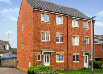 Thumbnail 4 bedroom detached house for sale in Cormorant Way, Leighton Buzzard