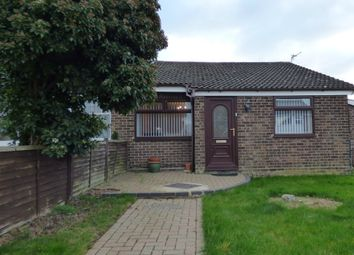 Thumbnail 3 bedroom semi-detached bungalow for sale in St. Davids Close, Long Stratton, Norwich