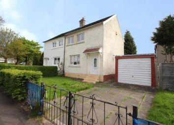Thumbnail 2 bed semi-detached house for sale in Park Road, Carmyle, Glasgow, Lanarkshire