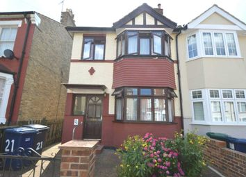 Thumbnail 3 bed semi-detached house for sale in Bellevue Road, London