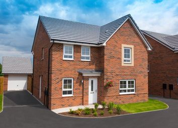 "Thumbnail 4 bed detached house for sale in ""Radleigh"" at Woodcock Square, Mickleover, Derby"