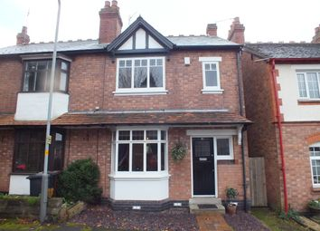 Thumbnail 2 bedroom semi-detached house for sale in Wellington Avenue, Bradmore, Wolverhampton