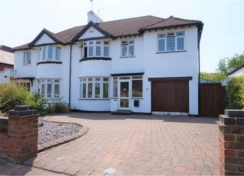 Thumbnail 4 bedroom semi-detached house for sale in Midfield Way, St Pauls Cray