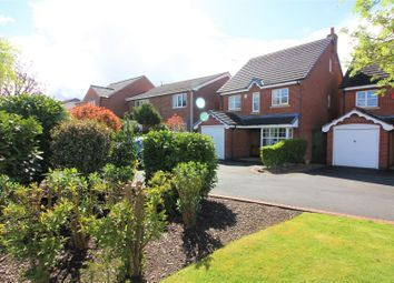 Thumbnail 4 bed detached house for sale in Brick Kiln Croft, Measham, Swadlincote