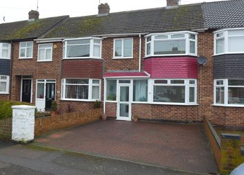 Thumbnail 3 bedroom terraced house for sale in Hallbrook Road, Keresley, Coventry, West Midlands