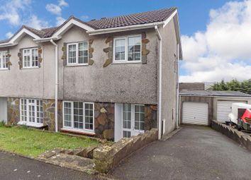 Thumbnail 3 bed semi-detached house for sale in Ty Gwyn Drive, Brackla, Bridgend .