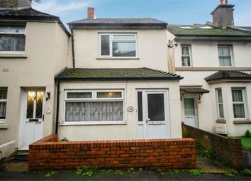 Thumbnail 3 bed end terrace house for sale in Radnor Park Road, Folkestone, Kent