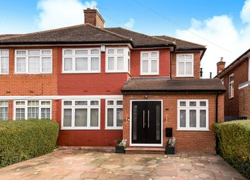 Thumbnail 4 bed semi-detached house for sale in Francklyn Gardens, Edgware