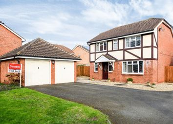 Thumbnail 4 bed detached house for sale in Turnberry Drive, Holmer, Hereford