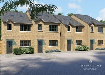 Thumbnail 3 bed semi-detached house for sale in Rectory Close, Farnham Royal, Slough