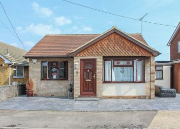 Thumbnail 3 bed detached bungalow for sale in Taranto Road, Canvey Island