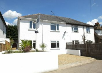 Thumbnail 3 bed semi-detached house for sale in High Street, Old Woking, Woking